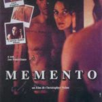 Locandina del film Memento di Cristopher Nolan