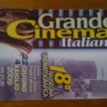 Grabde Cinema Italiano di POggio Mirteto 18° edizione – la locandina